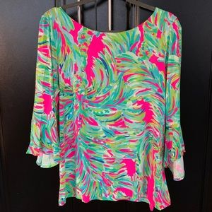 Lilly Pulitzer 'Tropical Storm' Blouse